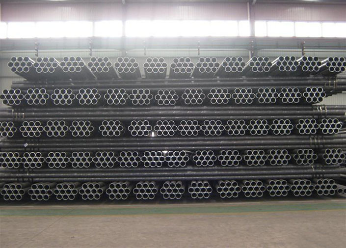 ERW Roung Carbon Welded Steel Tube BS3059-Ⅰ With 6000mm Zinc Coated